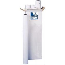 """Roul. papier blanc - 36"""" - Traceurs - 90gr - 45m - Mandrin:5 cm 2645C"""