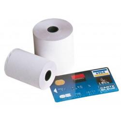 Rouleau papier thermique (dim: 57 x 40 x 12mm) - 18 mètres (TPE)