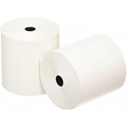 Rouleau papier thermique (dim: 80 x 80 x 12mm) - 48g  - 78m - SBPA