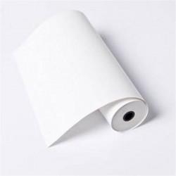 Rouleau papier TELEX 2 plis (blanc/jaune) Dim: 210 x 70m - D:25mm