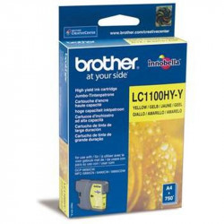 Cart BROTHER - LC1100HYY - Jaune - MFC5490/5890/6490 (Hte cap.)