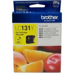 Cart BROTHER - LC131Y - Jaune - MFCJ245/470W/475DW/650DW/870DW