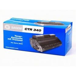 Kit Toner + Tambour SAGEM - CTR340 - Fax MF3240/45/65 (5000 p)