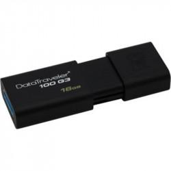Clé USB 3.0  16 Go KINGSTON Data Traveler Noir