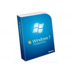 MICROSOFT Windows 7 Edition Professionnelle - 32 bits - version boite