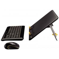 Clavier souris sans fil LOGITECH Kit Notebook MK605 (avec Support)
