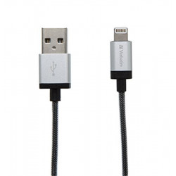 Cable USB/Lightning Silver - 120 cm