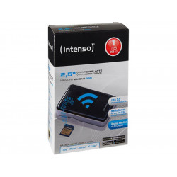 """Disque dur externe 2.5"""" USB 3.0 1To INTENSO WiFi Memory2Move Noir **"""