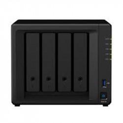 Synology DiskStation DS418 serveur de stockage RTD1296 Ethernet/LAN Mini Tower Noir NAS