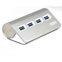 Hub USB-C -  4 Ports 4xUSB3.0 - KEYOUEST