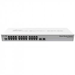 Switch MIKROTIK MKT-CRS326-24G-2S-RM 24 ports Gigabit + 2 SFP - N3 **