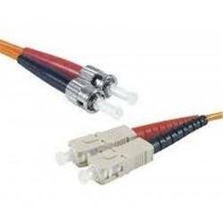 Cordon fibre optique multimode 62.5-125 OM1 LC-LC 3 mètres