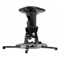 Support plafond universel pour vidéoprojecteur - 22cm - rotation 360°