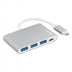 Hub USB-C -  4 Ports 3xUSB3.0/1xUSB-C - LEGRAND