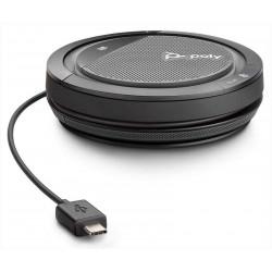 POLY Calisto 3200 haut-parleur PC Noir, Rouge
