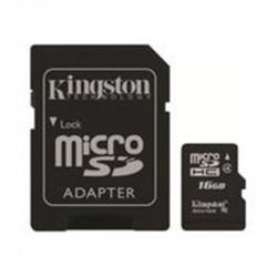 Carte mémoire MicroSDHC  16Go - Classe 10 - KINGSTON