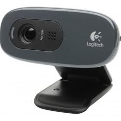 Webcam LOGITECH C270 - Noir - USB 2.0 - 3 Mégapixels