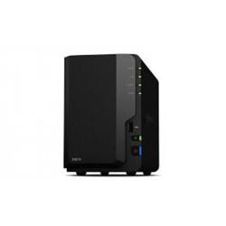Synology DiskStation DS218 serveur de stockage RTD1296 Ethernet/LAN Bureau Noir NAS