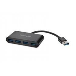 Kensington K39121WW hub & concentrateur USB 3.2 Gen 1 (3.1 Gen 1) Type-A 5000 Mbit/s Noir