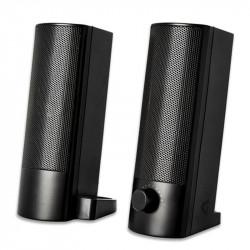 Haut-Parleurs V7 2.0 - 5 W RMS - Noir - USB