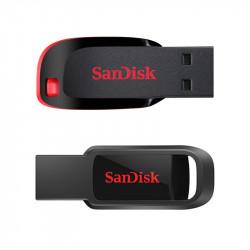Clé USB 2.0  16 Go SANDISK CZ50 Cruzer