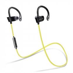 ECOUTEURS SPORT ACCESSOIRE- 4 tours d oreille pr écouteurs nr/jaune