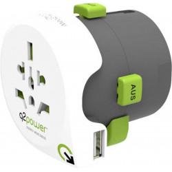 Adaptateur universel QDAPTEUR USB World to World