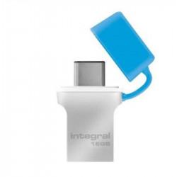 Clé USB-C 3.0 INTEGRAL Fusion 16Go