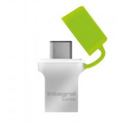 Clé USB-C 3.0 INTEGRAL Fusion 32Go