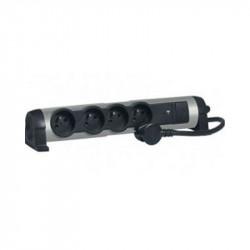 Rallonge Multiprises multimédia parafoudre USB