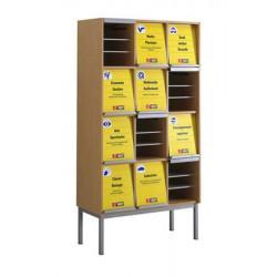 Presentoir à périodiques 12 cases (REF 5403)