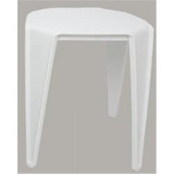 Tabouret Design 38 x 38 x 46 cm - Blanc