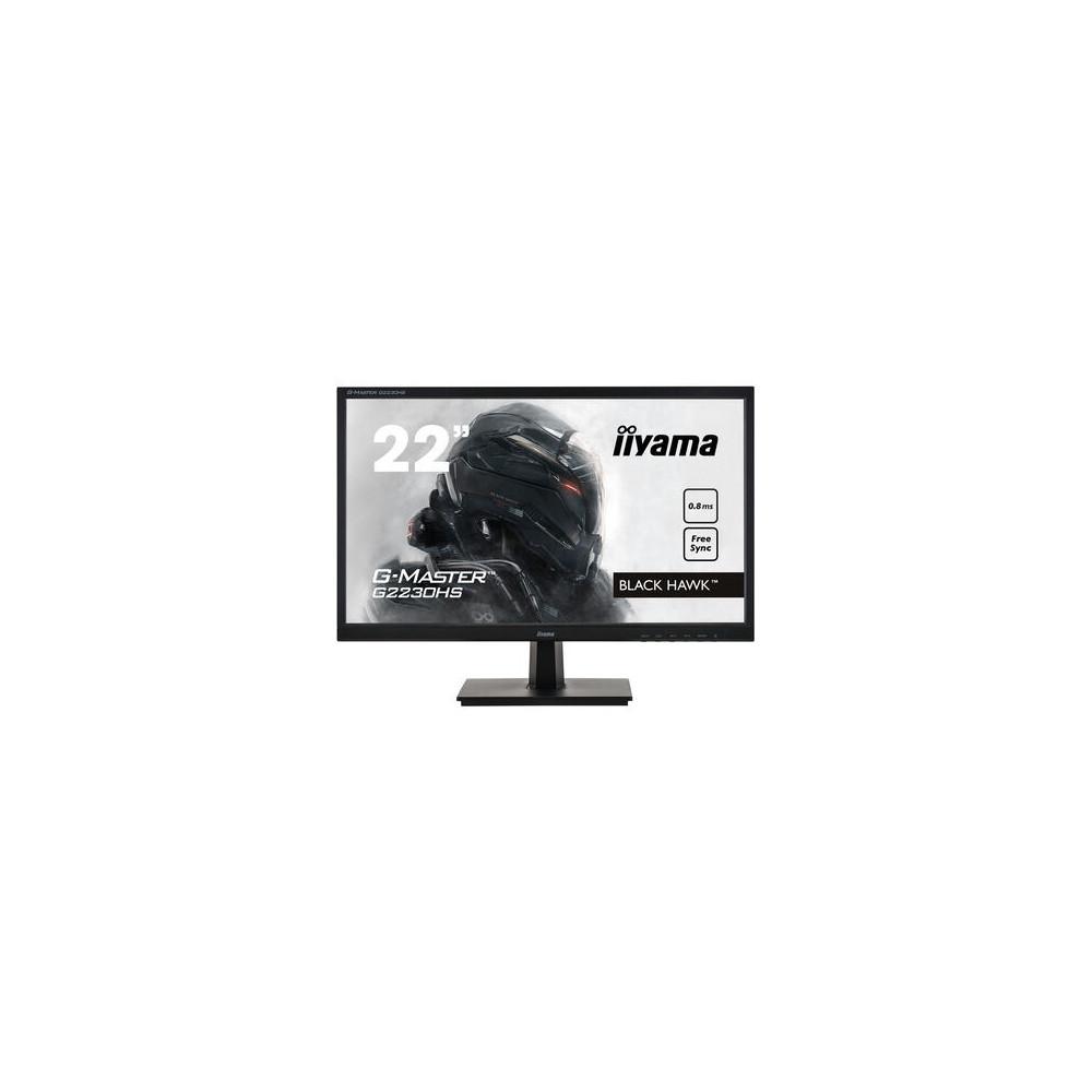 "iiyama G-MASTER G2230HS-B1 LED display 54,6 cm (21.5"") 1920 x 1080 pixels Full HD LCD Noir"