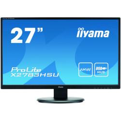 "iiyama ProLite X2783HSU 68,6 cm (27"") 1920 x 1080 pixels Full HD LED Noir"
