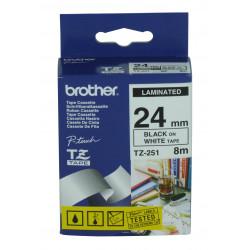 Brother TZ-251 ruban d'étiquette