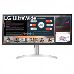 "LG 34WN650-W LED display 86,4 cm (34"") 2560 x 1080 pixels Full HD Ultra large Blanc"